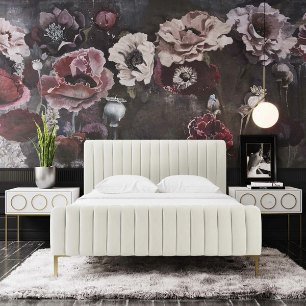Elysian Upholstered Platform Bed By Everly Quinn