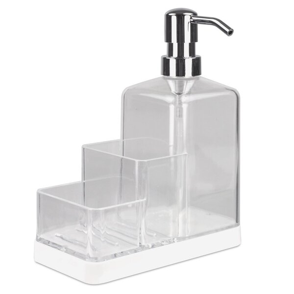 Bevers Kitchen Countertop Soap Dispenser by Rebrilliant
