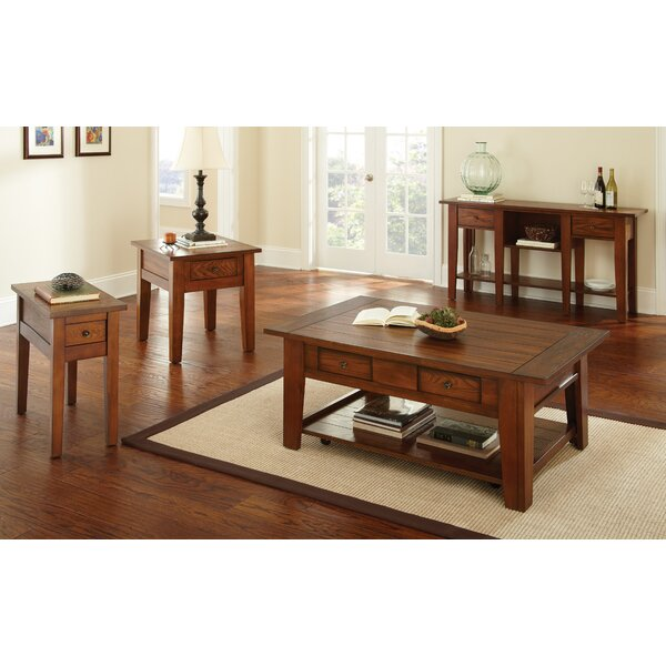 Dan 4 Piece Coffee Table Set by Red Barrel Studio