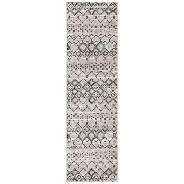 Struble Power Loom Gray/Brown Rug