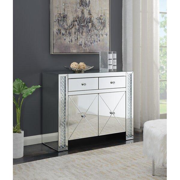 Burson 2 Drawer Accent Cabinet