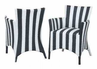 Eliana Rattan Peel Chair (Set of 2) by Breakwater Bay