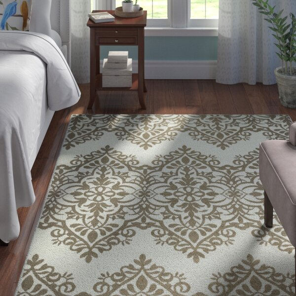 Peggie Ivory Indoor/Outdoor Area Rug by Astoria Grand