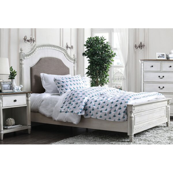Elzada Upholstered Platform Bed by Rosecliff Heights