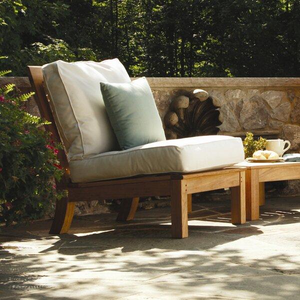 Monterey Teak Patio Chair by Three Birds Casual