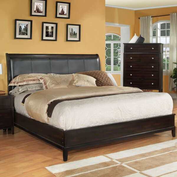 Newton Upholstered Panel Bed by Fairfax Home Collections