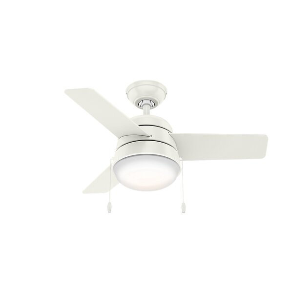 36 Aker 3 Blade Ceiling Fan by Hunter Fan