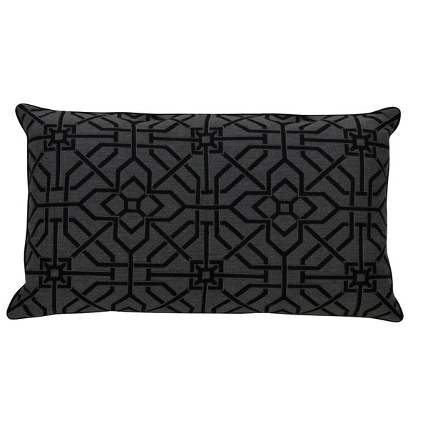 Down Geometric Lumbar Pillow