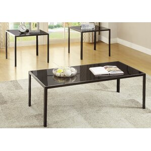 koah 3 piece coffee table set