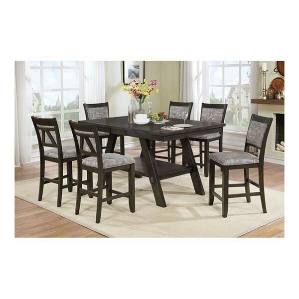 Molina Transtional 7 Piece Pub Table Set by Winston Porter