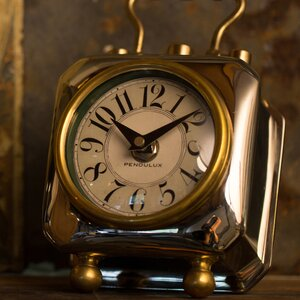 Table Clock by Longshore Tides