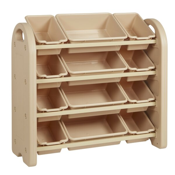 12 Compartment Cubby with Bins by ECR4kids