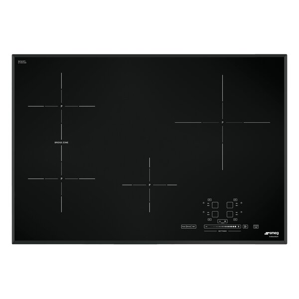 31 Induction Cooktop with 4 Burners and Ultra Low Profile by SMEG