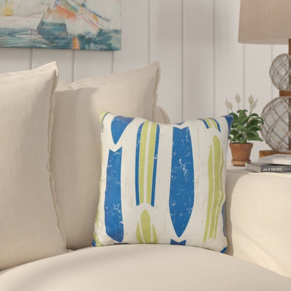 Cobscook Modern Geometric Outdoor Throw Pillow by Bay Isle Home