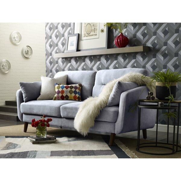 Chloe Mid-Century Modern Sofa by Elle Decor