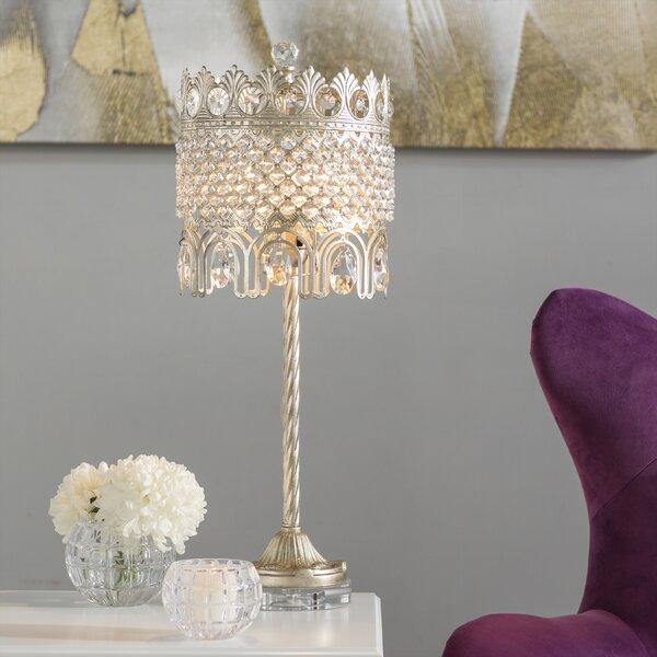 Herzberg 25.25 Table Lamp by House of Hampton
