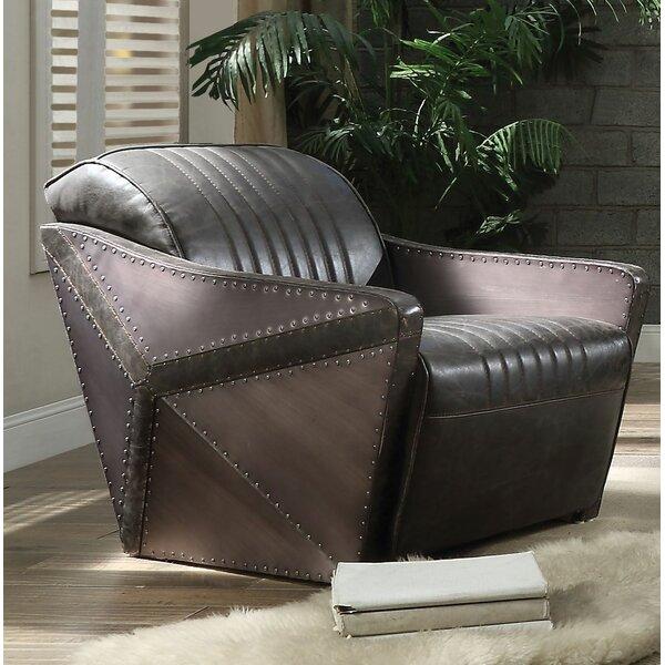 Spenser Leather Loveseat