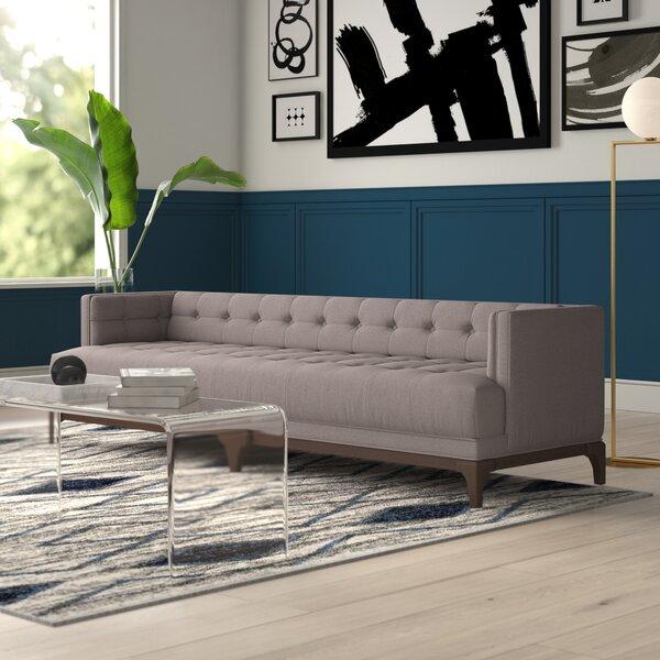 Mack Chesterfield Sofa by Mercury Row