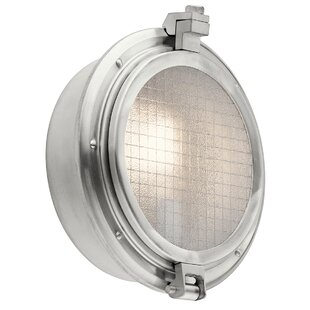 Compare & Buy Bermudiana 1-Light Outdoor Flush Mount By Breakwater Bay