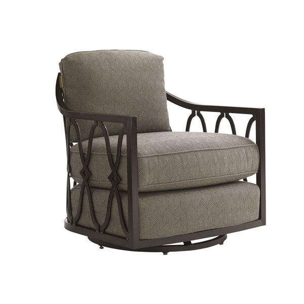 Royal Kahala Swivel Patio Chair with Cushions by Tommy Bahama Outdoor