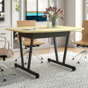 Price Check Beatriz Boat Shaped 29.5 H x 50.12 W X 39.5 D Conference Table ByLatitude Run