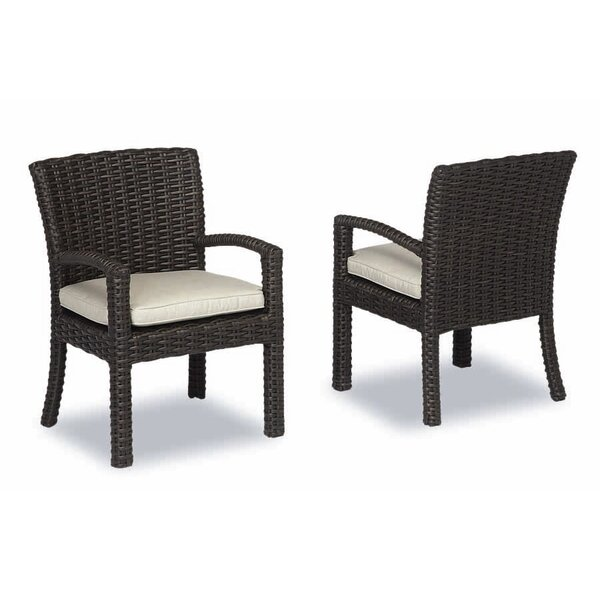 Cardiff Patio Dining Chair with Cushion by Sunset West