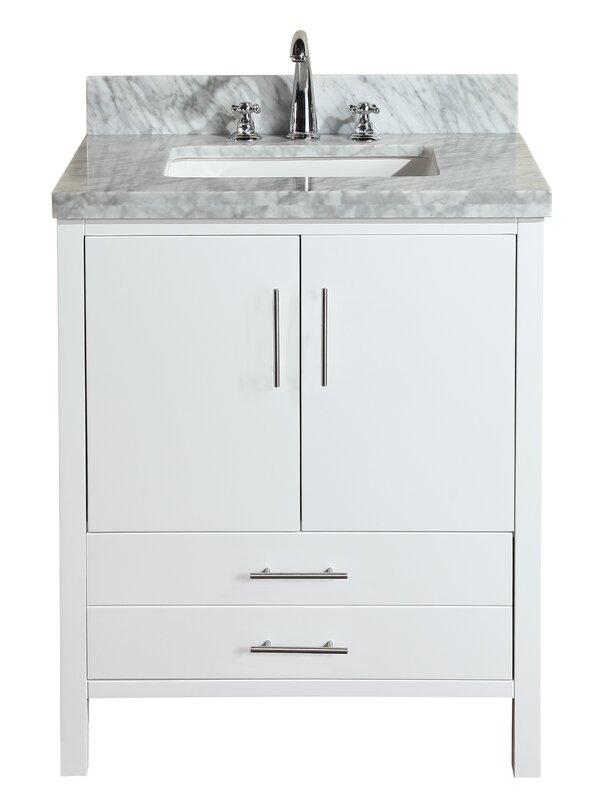 30 vanity with sink.  30 Inch Bathroom Vanities You ll Love Wayfair