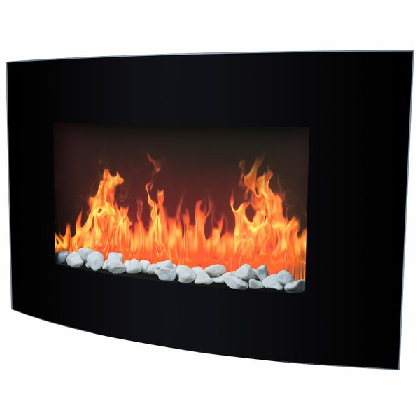 Slim Wall Mount Electric Fireplace Part - 41: Wall Mounted Fireplaces