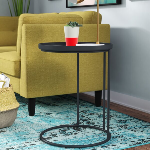 Higuchi Tray Table by Mercury Row