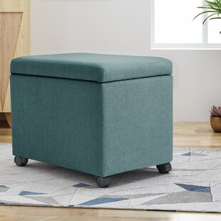 Online Reviews Hamlin Storage Ottoman By Winston Porter