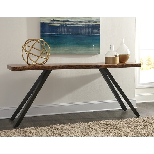 Crissman Live Edge Console Table By Foundry Select