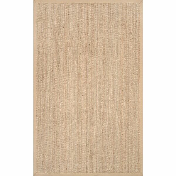 Mayfair Beige Area Rug by Beachcrest Home