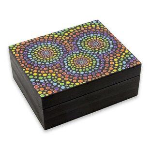 Best Price Mandalas Wood Jewelry Box ByBloomsbury Market