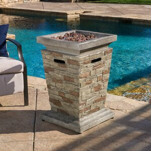 Campo Stone Propane Fire Column