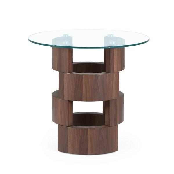 Heilman End Table By Orren Ellis Amazing