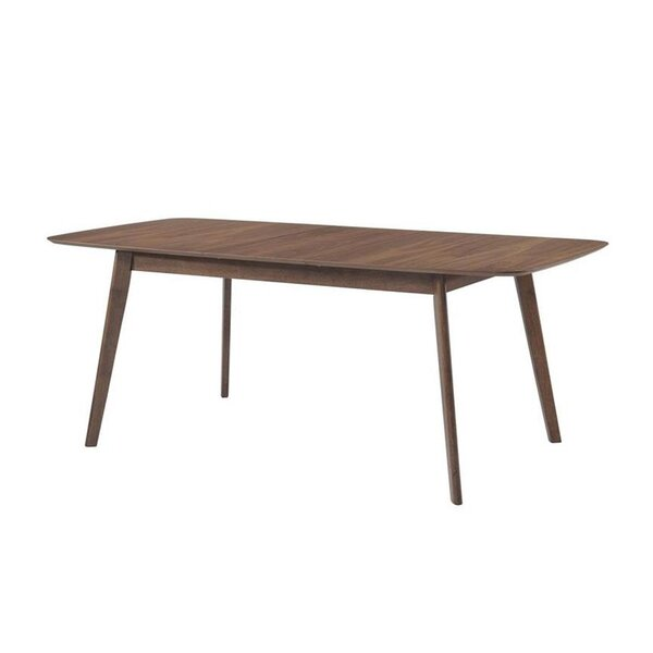 Earls Extendable Solid Wood Dining Table by Corrigan Studio