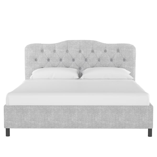 Walkowiak Linen Upholstered Platform Bed By Mercer41 Discount