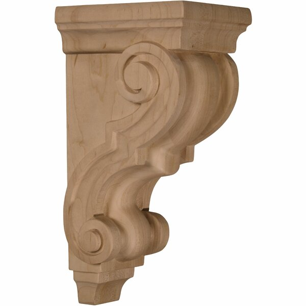 Traditional 10H x 4 1/2W x 5D Pilaster Corbel by Ekena Millwork