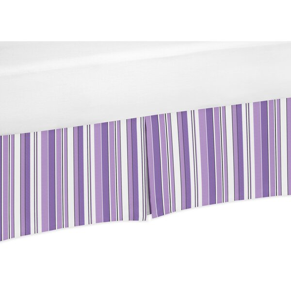 Kaylee Stripe Crib Skirt by Sweet Jojo Designs
