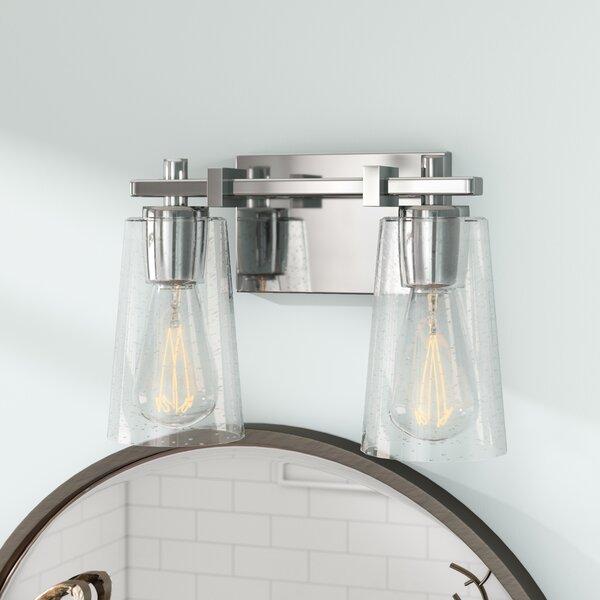 Muniz 2-Light Vanity Light by Beachcrest Home