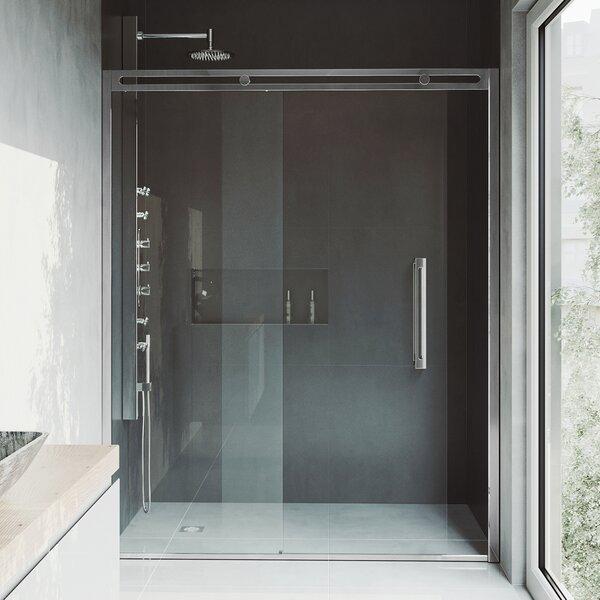 Erie 60.5 x 73.5 Sliding Adjustable Framed Shower Door by VIGO