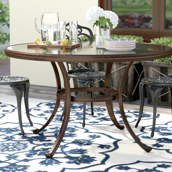 Mentone Round Dining Table by Darby Home Co