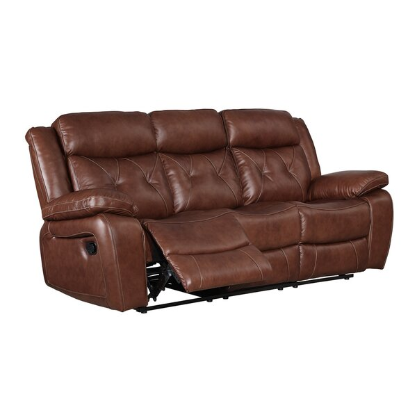 Gohoho Leather Power Reclining Sofa by Red Barrel Studio
