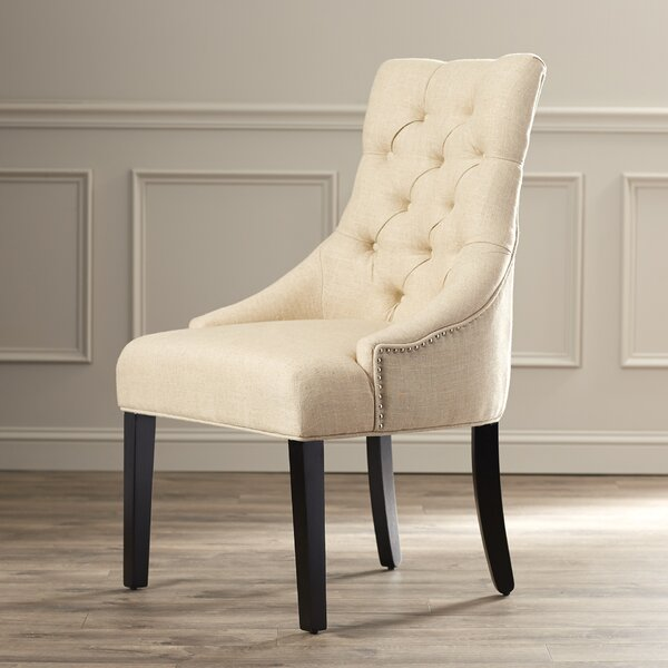 Lamb Tufted Nailhead Side Chair (Set of 2) by Willa Arlo Interiors