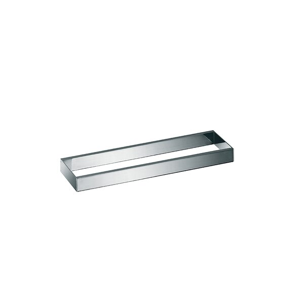 Skuara Toilet Rail/Bracket in Polished Chrome by WS Bath Collections