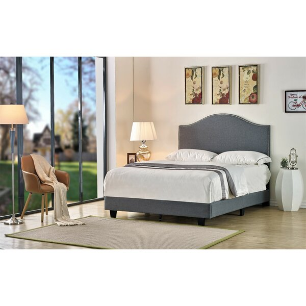 Willmar Upholstered Standard Bed by Charlton Home
