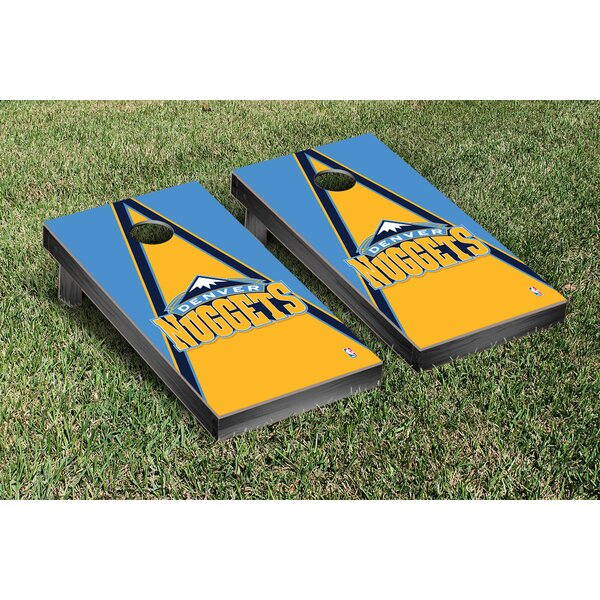 NBA Triangle Version Cornhole Game Set by Victory