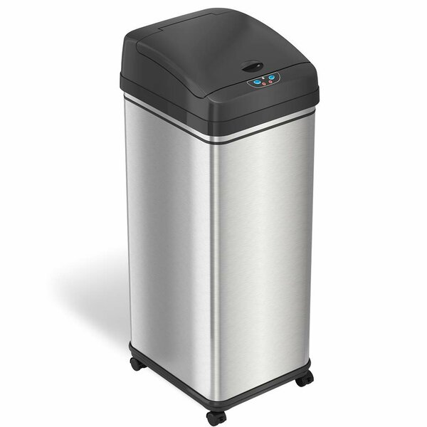 Deodorizer 13 Gallon Motion Sensor Trash Can by iTouchless