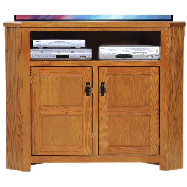 Makayla Solid Wood TV Stand For TVs Up To 55