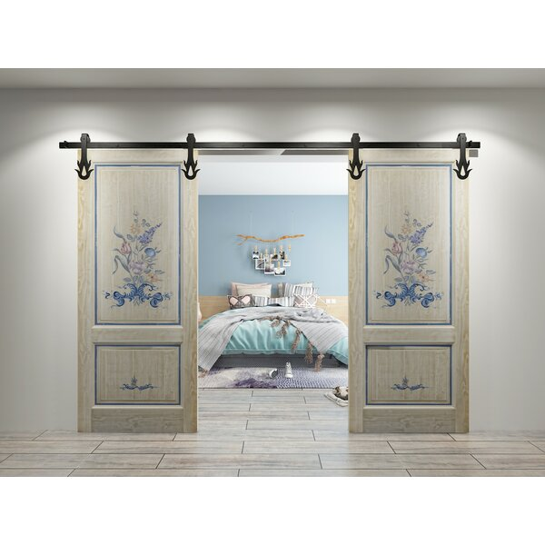 Double Flame Barn Door Hardware by Vancleef